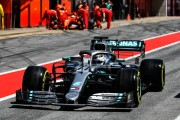 Bottas marca el ritmo en el primer día de pruebas en Barcelona