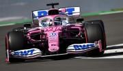 Racing Point marca el ritmo en Gran Bretaña