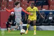Estupiñán fue titular en victoria del Villarreal