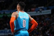 Westbrook, triple-doble por tercera temporada seguida; ganan los favoritos (Resumen)