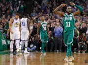 Celtics avisan a Warriors; Rockets, con Harden y Paul, se exhiben (Resumen)