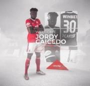 Jordy Caicedo fue anunciado por el CSKA Sofía