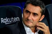 Valverde dirige el que puede ser su último entrenamiento con el Barça