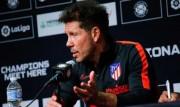 """Simeone: """"La gente se entretiene; nosotros tenemos ganas de ganar"""""""