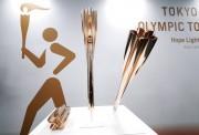 Tokio 2020 presenta su antorcha olímpica inspirada en la flor del cerezo