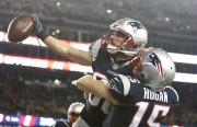 (24-20) Brady luce pese a lesión y lleva a los Patriots al Super Bowl