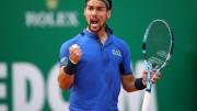 Fognini remonta a Coric y jugará con Nadal en semifinales