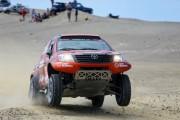 El rally Dakar afronta la etapa más larga de su primera semana