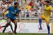 Ronaldinho protagoniza amistoso y revela apoyo al Gremio en Mundial de clubes