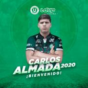 Carlos Gabriel Almada, nuevo delantero de la 'Capira'