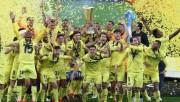 Villarreal de Estupiñán se corona en la UEFA Europa League