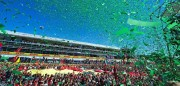 Ferrari llega a casa confiado en volver ganar nueve años después