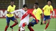 (1-1) Ecuador no puede con Perú y queda al borde de la eliminación