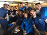 Boca Juniors aterriza en Madrid