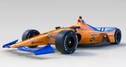 McLaren presentó el coche de Alonso para las 500 Millas de Indianápolis