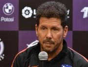 """Diego Simeone: """"En el Atleti no dejamos de sufrir"""""""