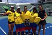 Ecuador asciende al Grupo I Zona Americana en la Fed Cup