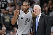 Spurs jugarán semifinales ante Rockets y Raptors frente a Cavaliers (Resumen)