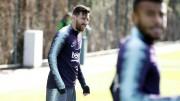 Messi y Umtiti se entrenan con normalidad; Dembélé hace trabajo específico