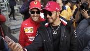 """Hamilton: """"El duelo sigue siendo entre Vettel y yo"""""""