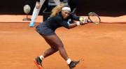 Serena Williams se retira del torneo de Roma por lesión