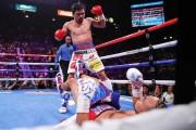 Manny Pacquiao vuelve a dar cátedra y gana la corona welter con 40 años
