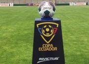 Horarios definidos para la vuelta, de los cuartos de final de la Copa Ecuador