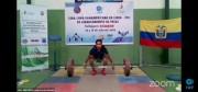 Ecuatorianas destacan en Copa Panamericana virtual de levantamiento de pesas