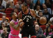 Raptors ganan a Heat duelo de líderes; regreso triunfal de Rose a Chicago (Resumen)