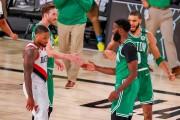 Celtics arrollan a los campeones; Nets y Magic jugarán los playoffs (Resumen)