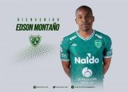 Edson Montaño, oficializado por Sarmiento