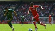 Chalá jugó un tiempo en empate de Toluca