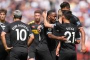 El City golpea duro y es líder; el Tottenham, sufre ante el Aston Villa