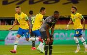 Ecuador cayó en Brasil, pero sigue tercero en las Eliminatorias