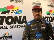 """Alonso completa preparación 24 Horas de Daytona con el objetivo de """"ganar"""""""