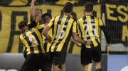 Cuatro jugadores del Peñarol declaran ante Justicia por hechos ante Palmeiras