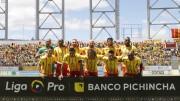 (2-1) Todo le salió mal a LDU y Aucas celebra el 'Súper Clásico Capitalino'
