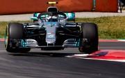 Bottas y Hamilton por delante de los Ferrari en Montmeló