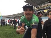 Sebastián Novoa gana la primera etapa de la Vuelta Ciclística a Ecuador