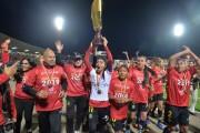 Las 'leonas' llegaron a la capital para su debut en la Libertadores