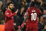 """Salah, """"feliz"""" por anotar su gol número 50 con el Liverpool"""