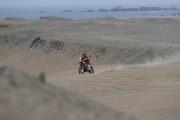 Barreda se mantiene líder del Dakar tras triunfo de Walkner en segunda etapa