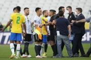 Escándalo hizo suspender el Brasil vs. Argentina