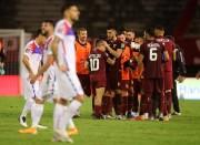 (2-1) Venezuela toma aire en casa y vence a Chile