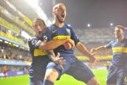 (2-0) Boca logra una buena ventaja ante Palmeiras con un doblete de Benedetto