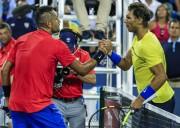 Kyrgios elimina a Nadal y jugará semifinal con Ferrer; Dimitrov ante Isner