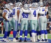 Prescott sella la victoria de los campeones Cowboys