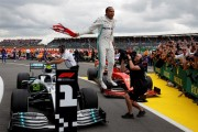 """Hamilton: """"Hoy es uno de los mejores días que puedo recordar"""""""