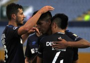 El 'Facu' y el 'Trencito' por ganar el 'Clásico Universitario'