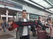 Balda llegó a México para enfundarse la camiseta del Atlas